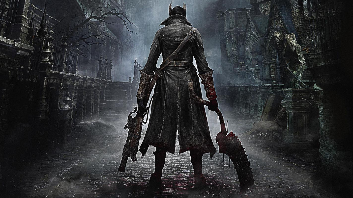 Bloodborne-Art-Silk-Fabric-Poster-Print-Game-Hunter-Picture-for-Living-Room-Wall-Decoration-Picture-Wall